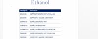 Ethanol List